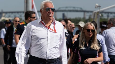 Racing Point's Lawrence Stroll in pole position for Aston Martin stake