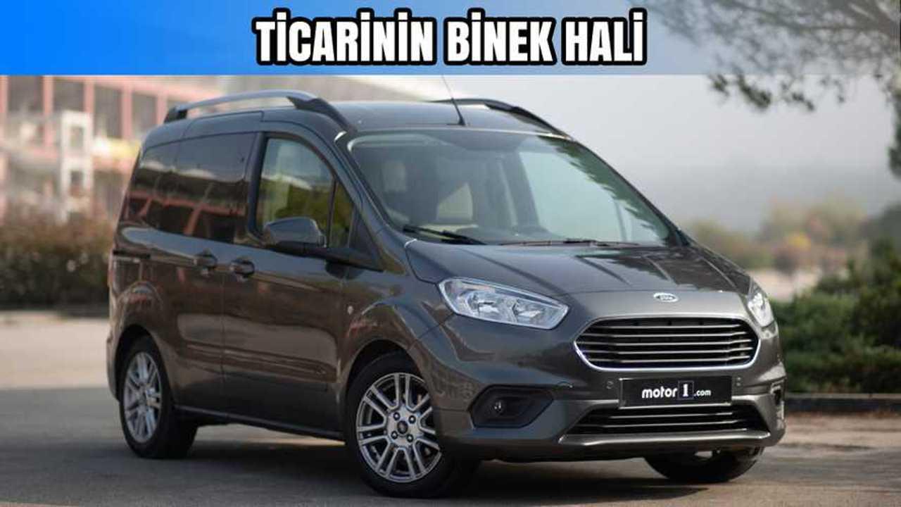 Ford Tourneo Courier Journey Titanium Plus 1 5 Tdci Neden Almali