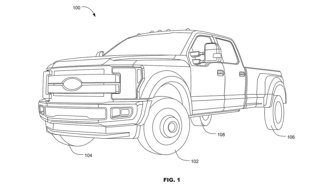 Ford All-Wheel Steering Patent