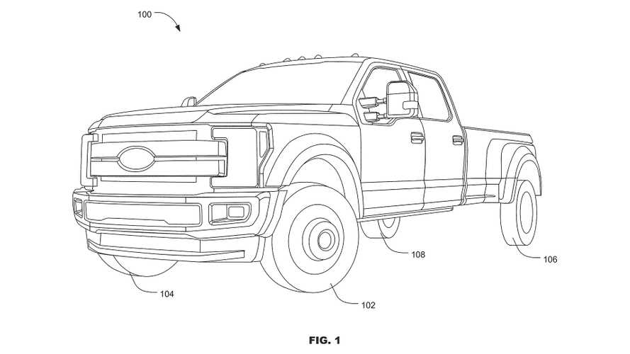 Ford Submits All-Wheel Steering Patent For F-Series Trucks