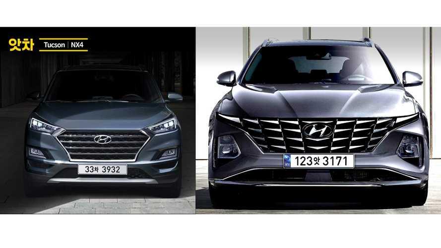 2021 Hyundai Tucson new rendering
