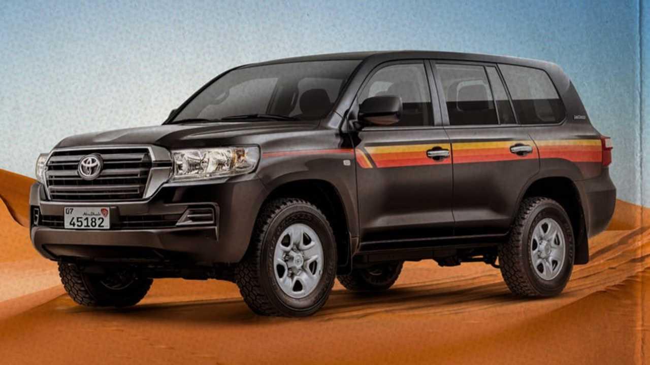 Toyota Land Cruiser Heritage Edition for UAE