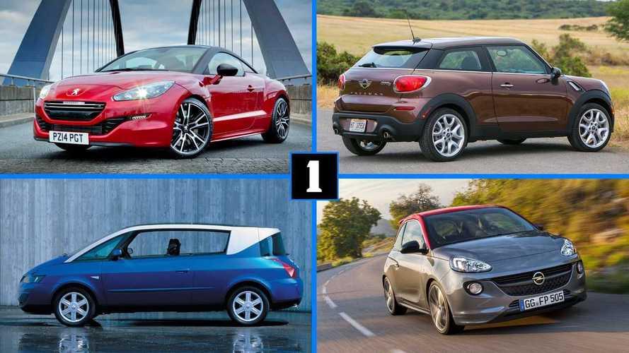 10 coches que no tuvieron una segunda oportunidad