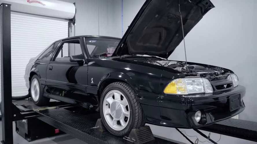1993 Ford Mustang SVT Cobra Dyno Run Reveals Underrated Engine's Power