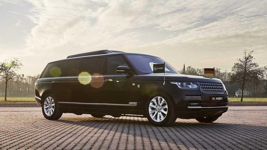 Тюнеры превратили Range Rover в бронированный лимузин
