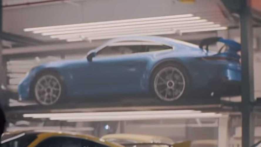 Super Bowl reklamındaki araç 2020 Porsche 911 GT3 mü?