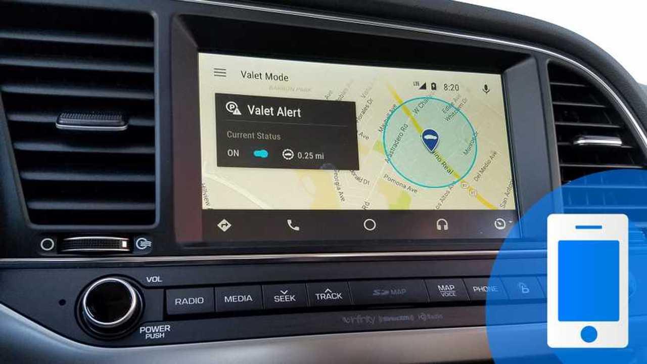 Android Auto Parcheggio TECH