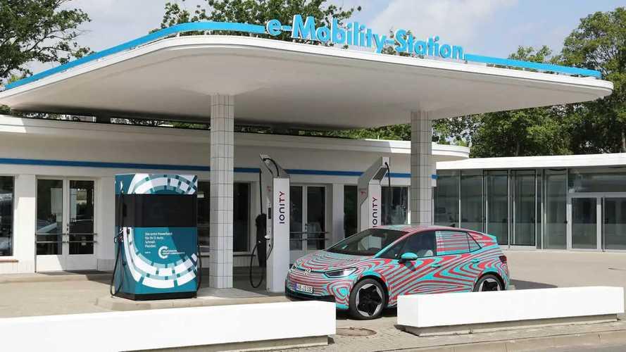 Volkswagen Mobile Charging Station
