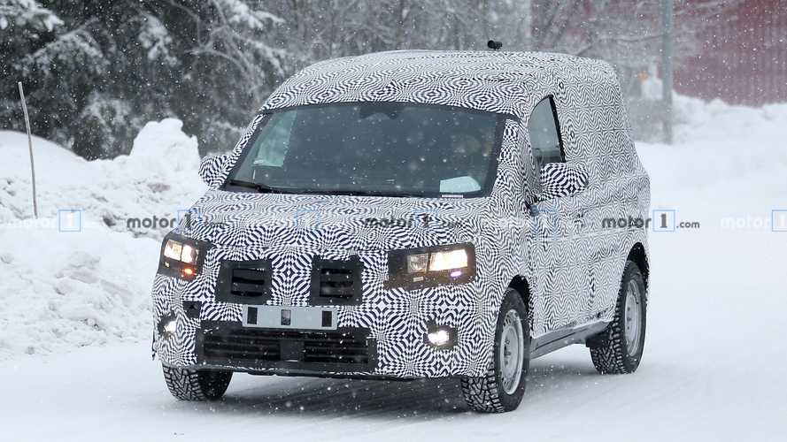 Renault Kangoo new spy photos