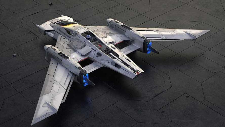 Porsche und Lucasfilm erschaffen Raumschiff für Star Wars