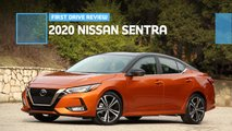 2020 nissan sentra first drive