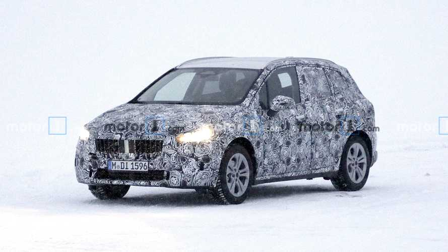 BMW 2 Series Active Tourer New Spy Photos