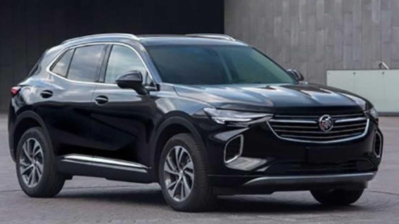 2020 buick envision s for china gets an early reveal