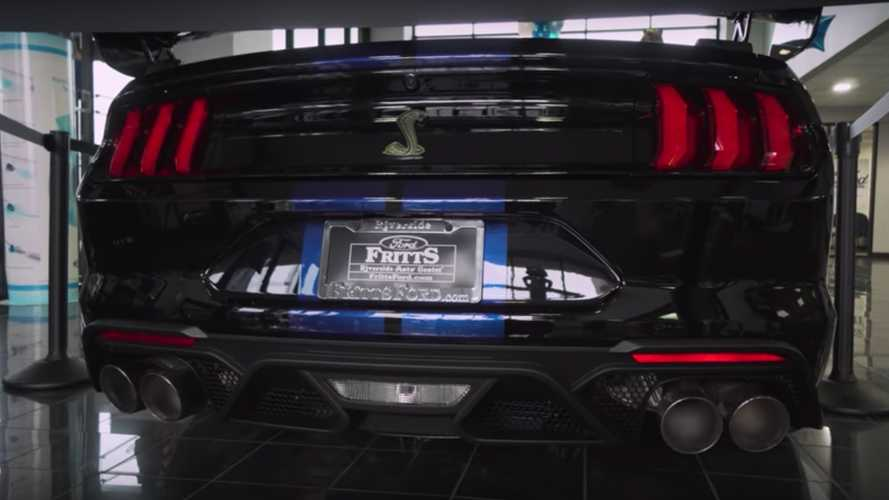 2020 Ford Mustang Shelby GT500 Sold For $185,890