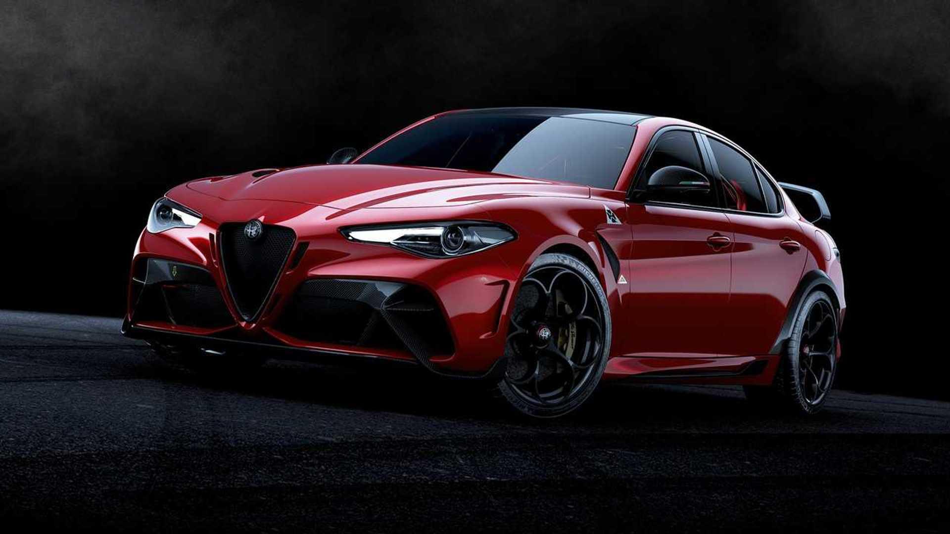 Merakla beklenen Alfa Romeo Giula GTAm sonunda görücüye çıktı