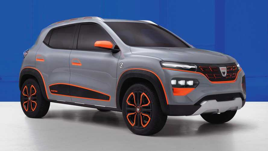 Dacia Spring Concept Revealed With More Than 124 Miles Of Range