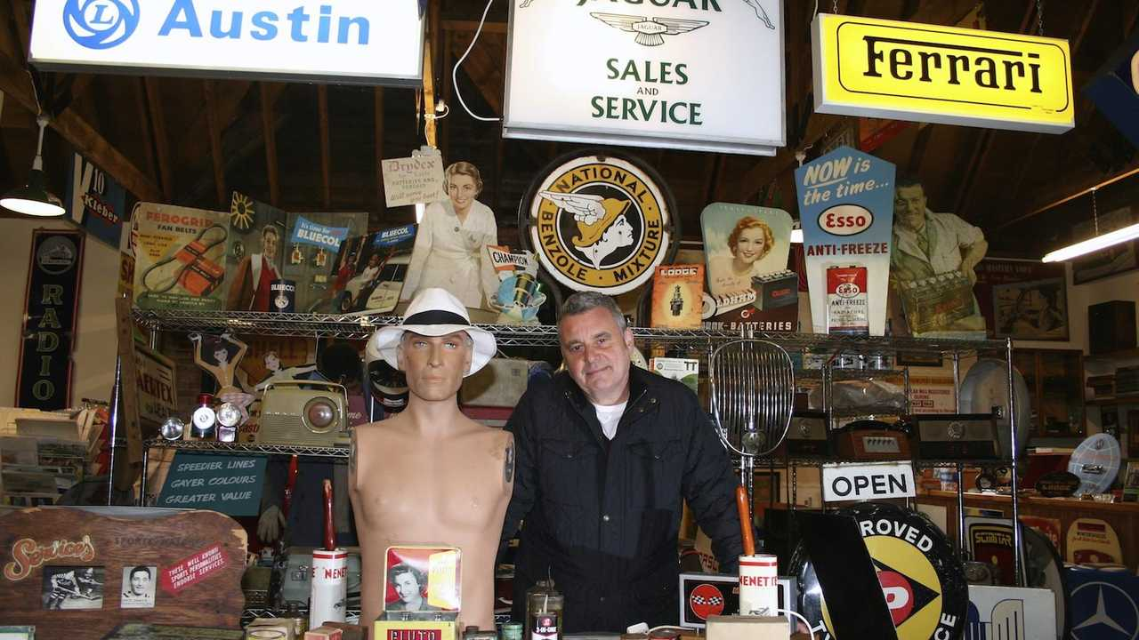 Incredible automobilia collection up for auction this Saturday