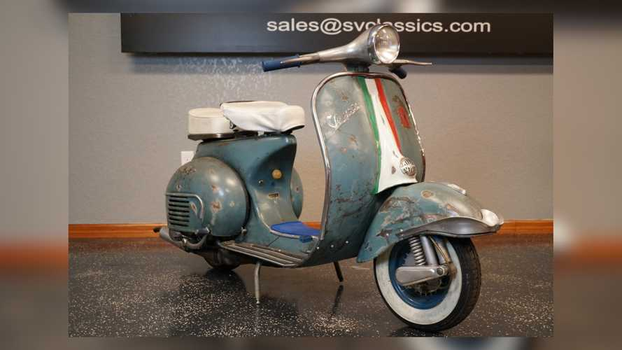 Please Take This Stray 1962 Vespa Home And Give It Some TLC
