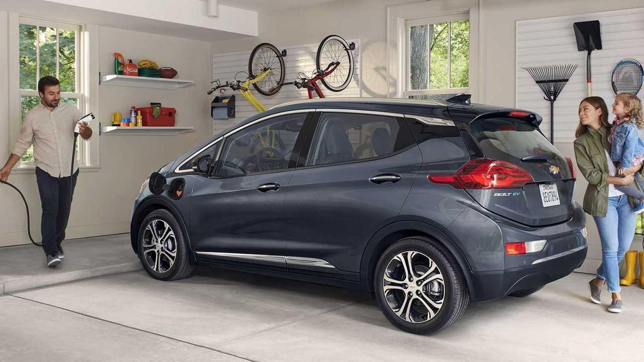 Chevrolet Bolt EV 2020 charging
