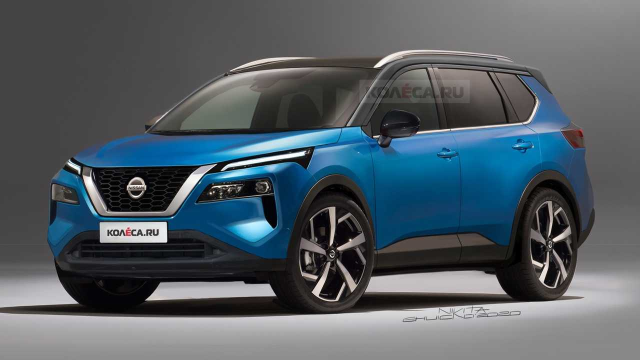 New Nissan Rogue / X-Trail Rendered Based On Patent Images