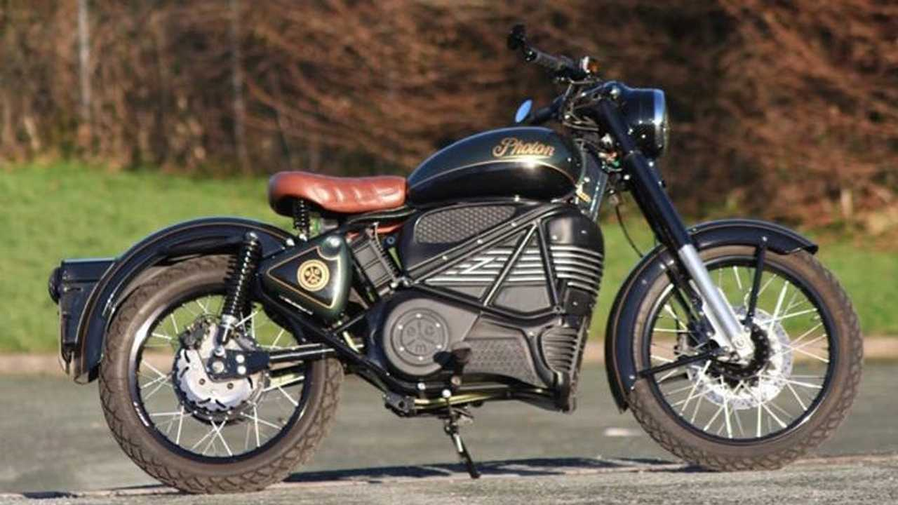 Electric Classic Cars Photon: Royal Enfield Bullet 350