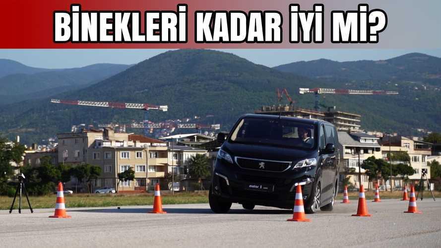 2019 Peugeot Expert Traveller | Geyik Testi