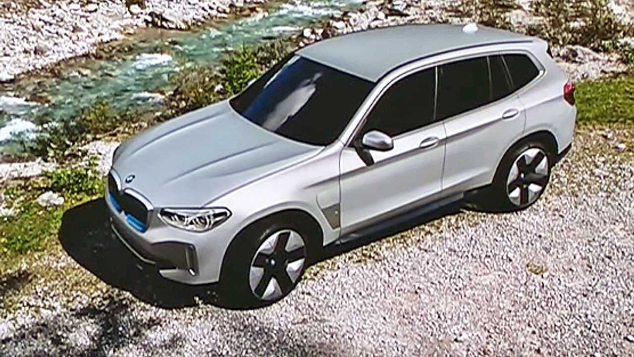 BMW iX3 Teased