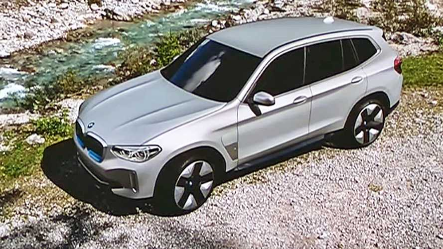 Production-Spec BMW iX3 Revealed During i4 Presentation