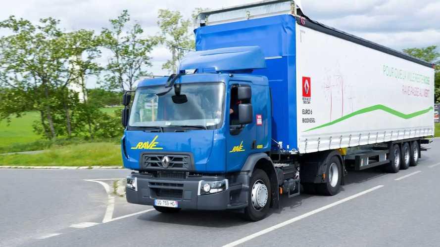 Biodiesel, la flotta sperimentale di Renault Trucks