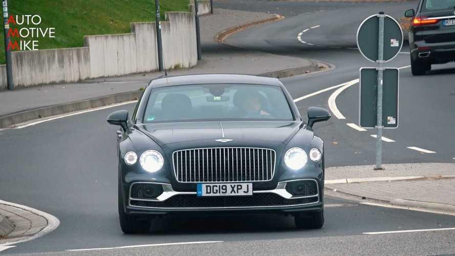 Bentley Flying Spur hibrid teszt
