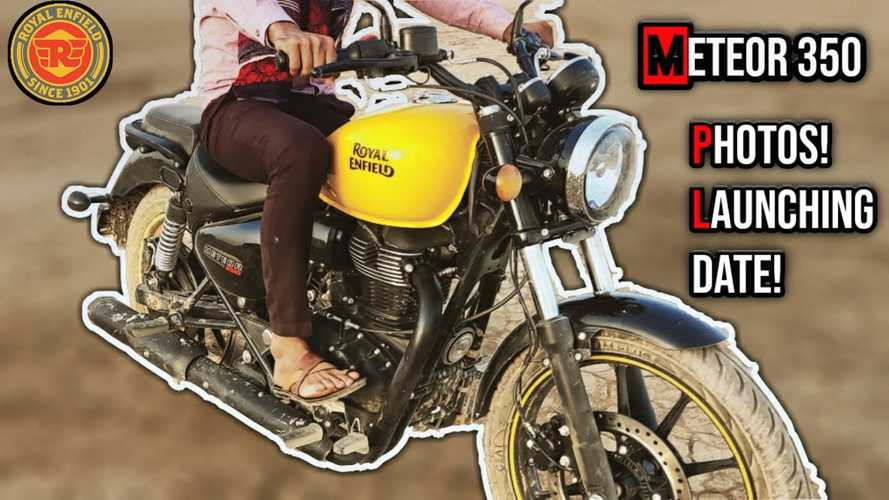 Spotted Test Mule Confirms The Arrival Of The Royal Enfield Meteor