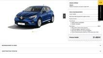Renault Clio, Come Configurarla