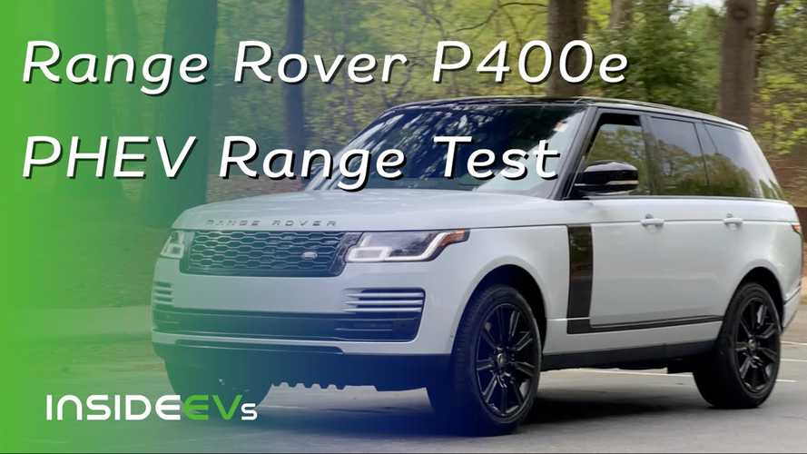 Does Electrification Make The Range Rover P400e The Best 4x4?