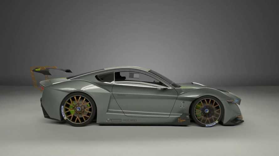 2020 Ford Mustang Electric Car