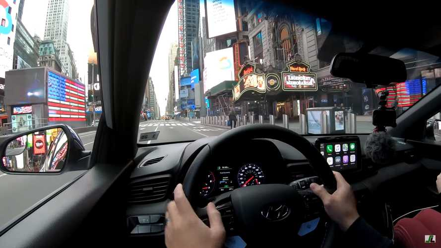 Watch This Unsettling Drive Through Empty New York City Streets