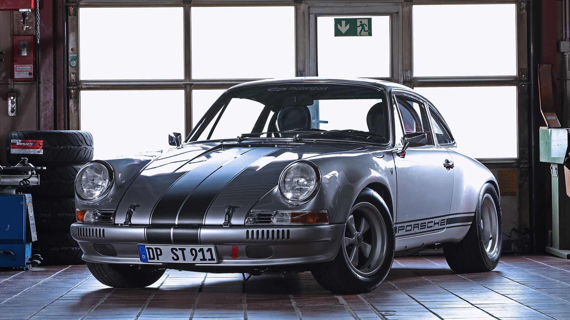 New Carrera RS Lower Side Stripe Decals 911 930