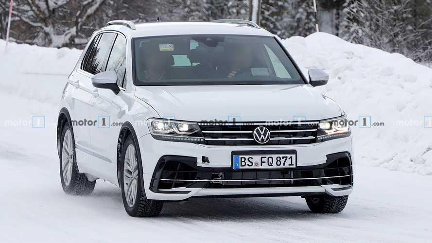 Volkswagen Tiguan R 2021 - Novos flagras
