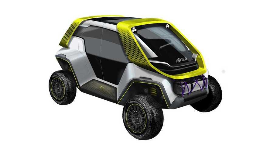 IED Tracy: Ungewöhnliches Elektro-Kleinfahrzeug für sechs Insassen