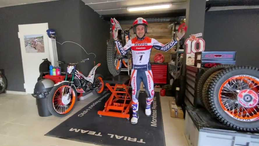 This Is How Trials Champion Toni Bou Deals With The Lockdown