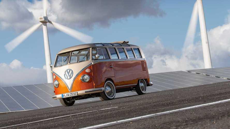 Le VW Combi devient électrique avec l'e-Bulli !