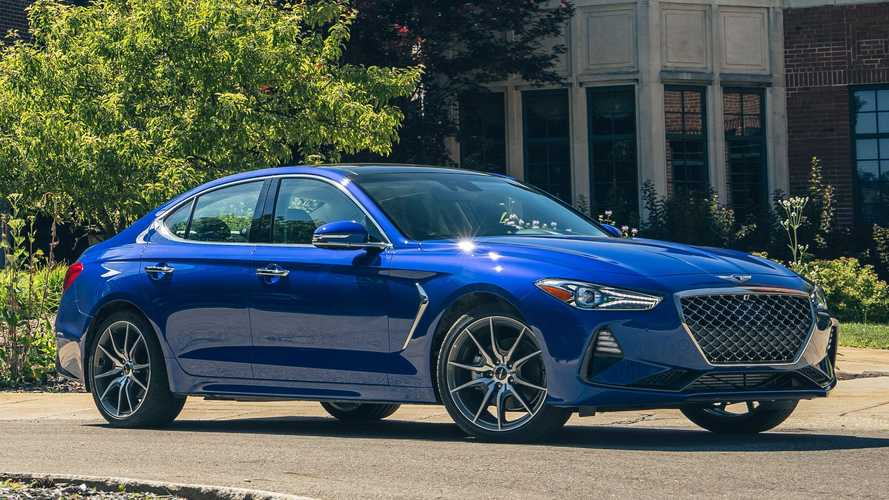 Genesis G70 Keeps The Manual Gearbox Alive For 2021