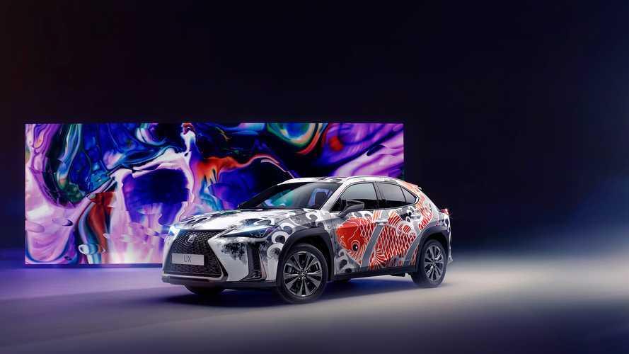Lexus crea el primer automóvil tatuado del mundo