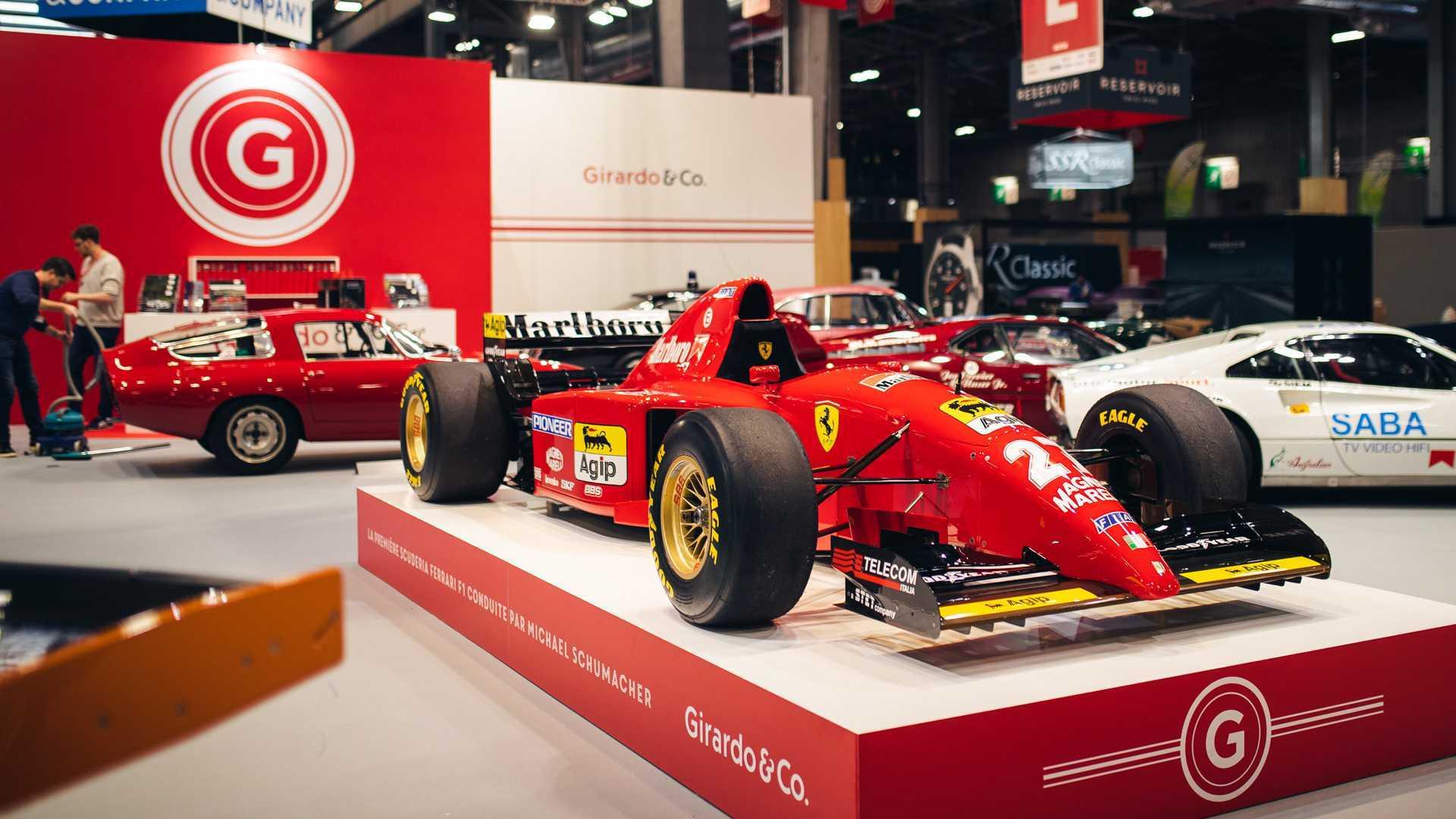 "[""Michael Schumacher-Driven Ferrari F1 Racecar For Sale""]"