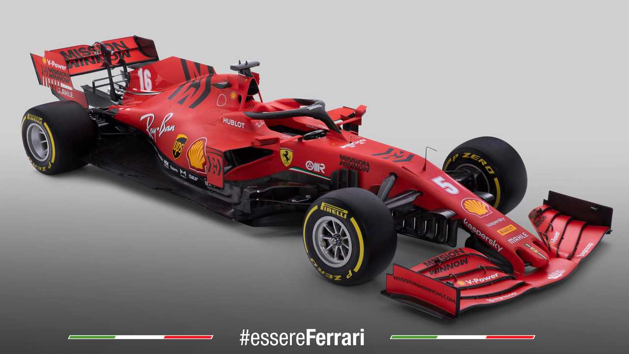 Ferrari's 2020 F1 Car Breaks Cover