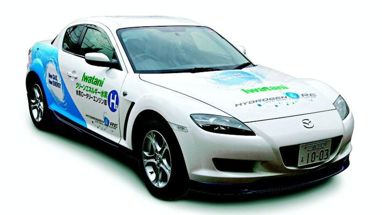 Mazda RX-8 Hydrogen Iwatani Int. Co. version