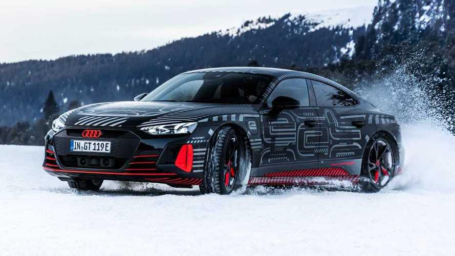 Audi E-Tron GT, resmi tanıtımından önceki son teaser'larına kavuştu