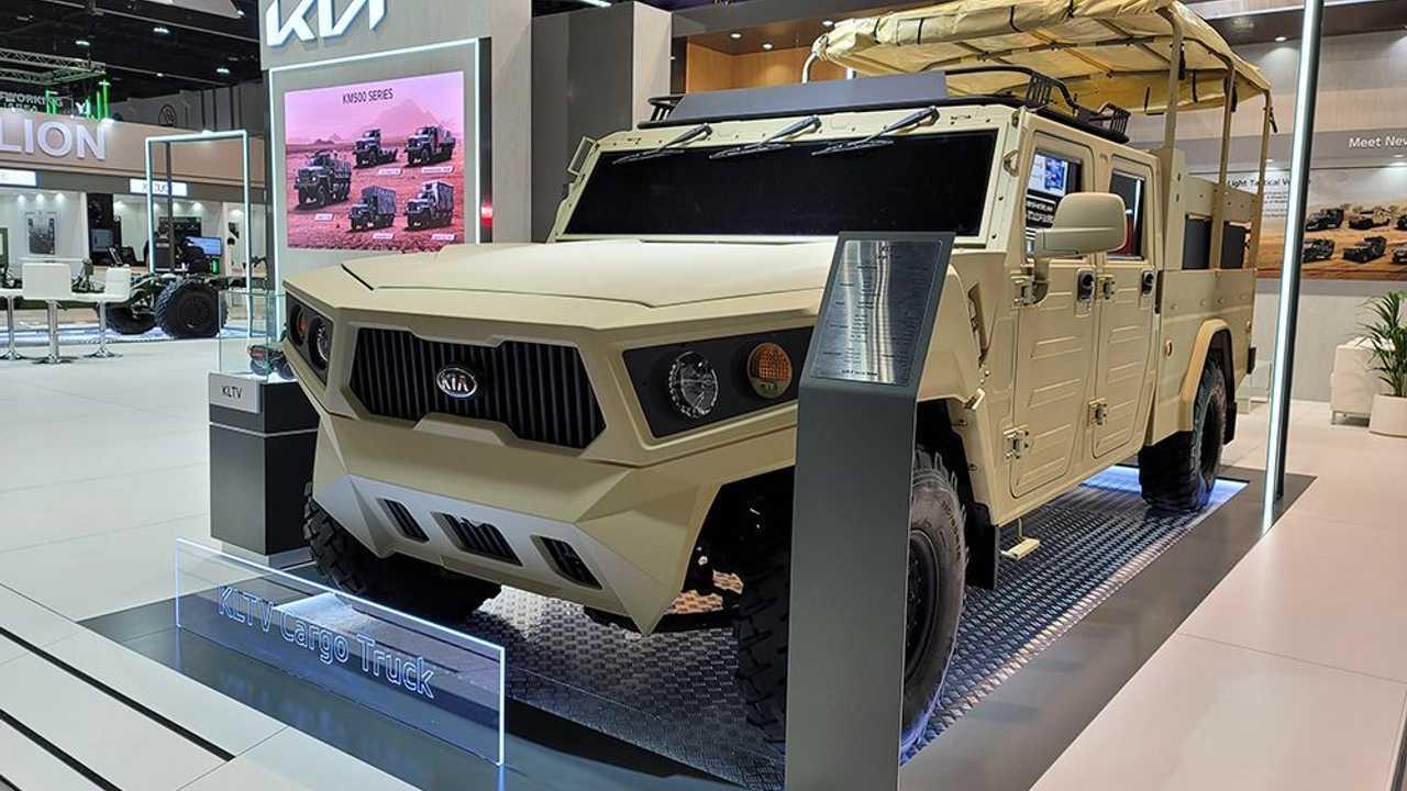 Kia Light Tactical Cargo Truck Concept