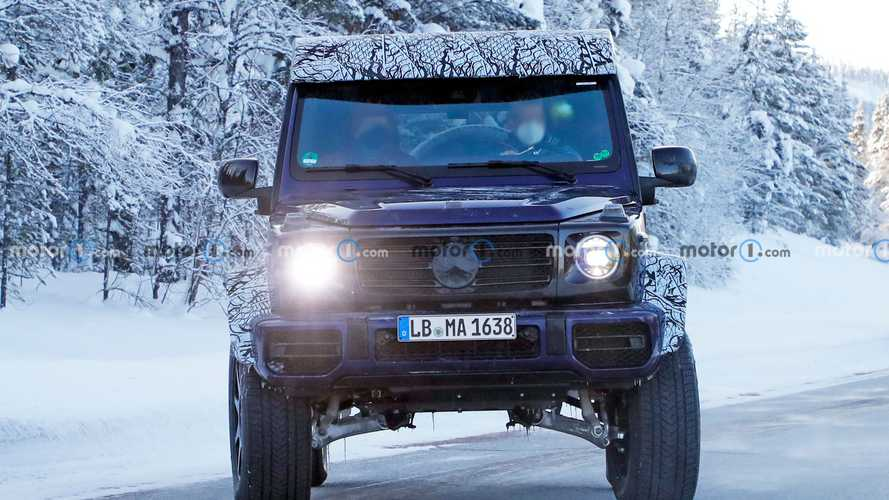 2022 Mercedes G-Class 4x4 Squared spy photos