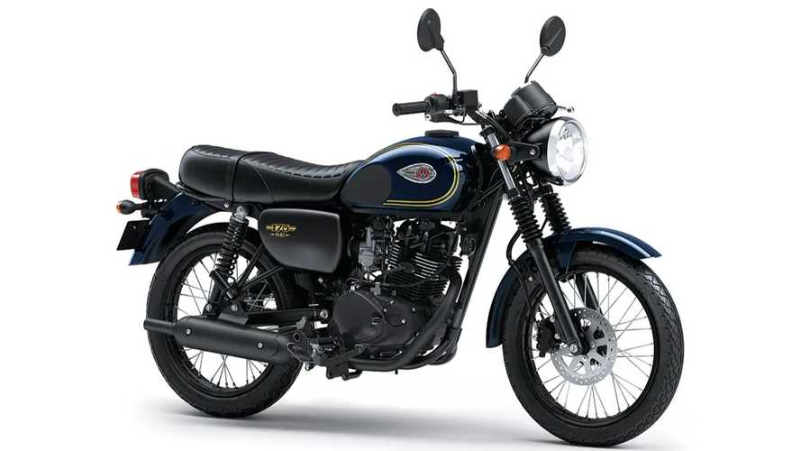 Updated Kawasaki W175 Rolled Out In Indonesia