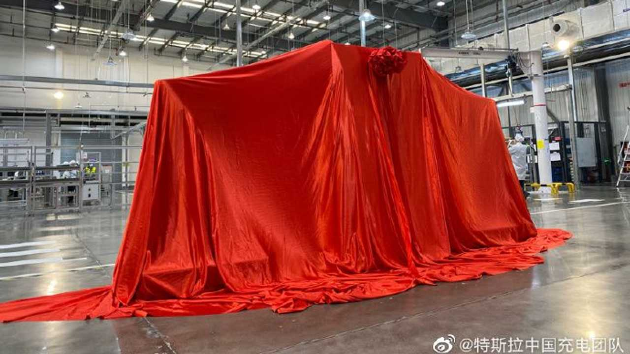 Tesla Superchargers production in China - February 3, 2021